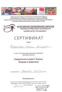 Сертификат теории и практики