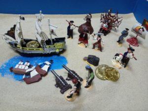 Корабль пираты